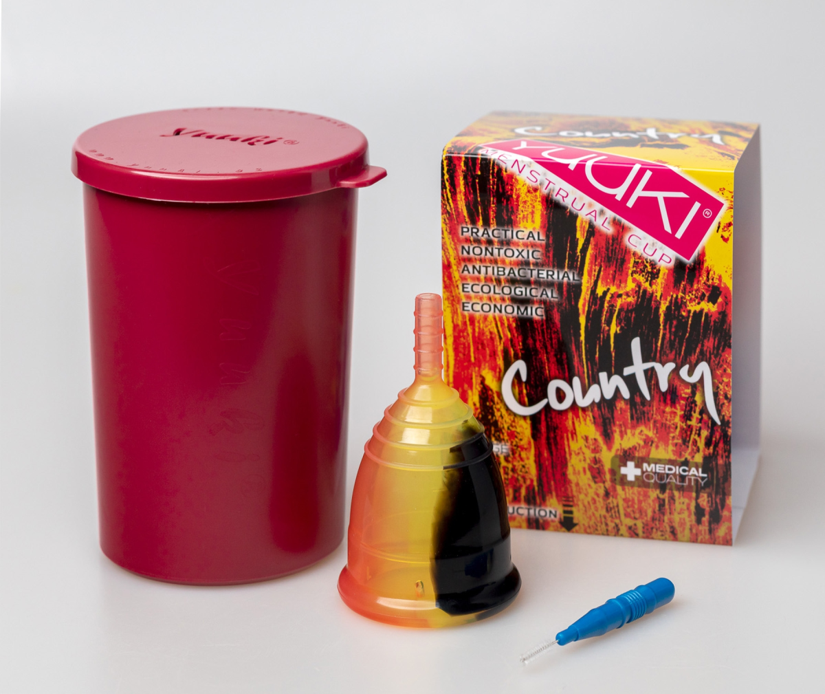 COUNTRY Mond menstrual cup